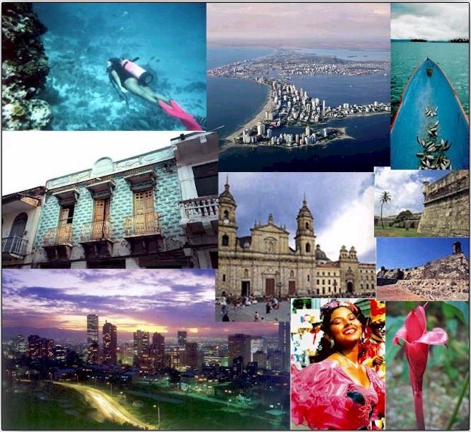 Vuelos Colombia: encuentra aquí una gran variedad de lugares de interés.